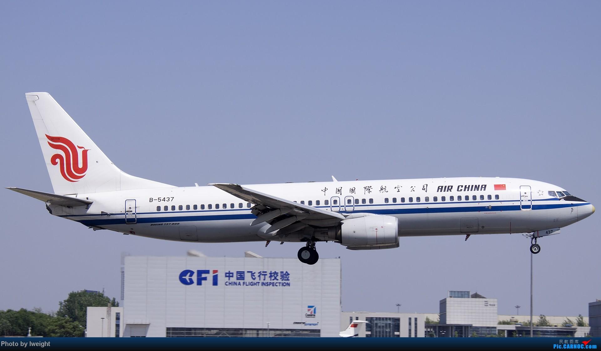 Re:[原创]5月12日PEK好天从01→19→18R BOEING 737-800 B-5437 中国北京首都机场