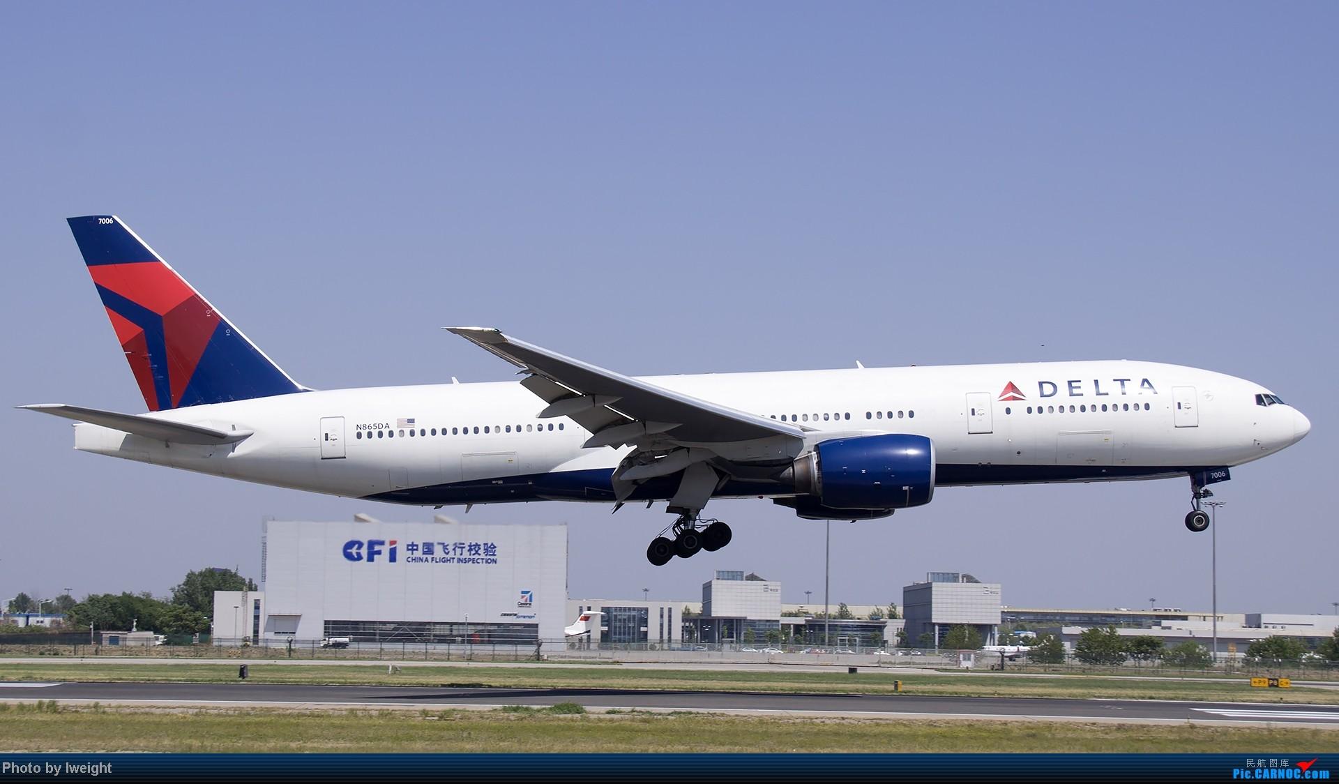 Re:[原创]5月12日PEK好天从01→19→18R BOEING 777-200 N865DA 中国北京首都机场