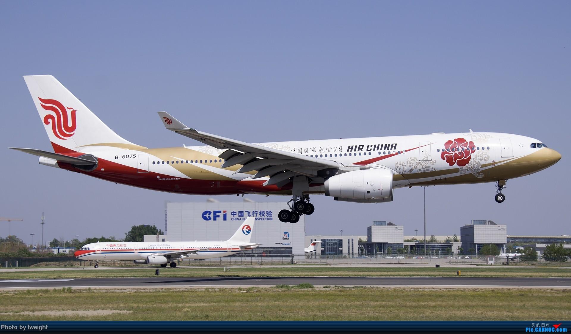 Re:[原创]5月12日PEK好天从01→19→18R AIRBUS A330-200 B-6075 中国北京首都机场