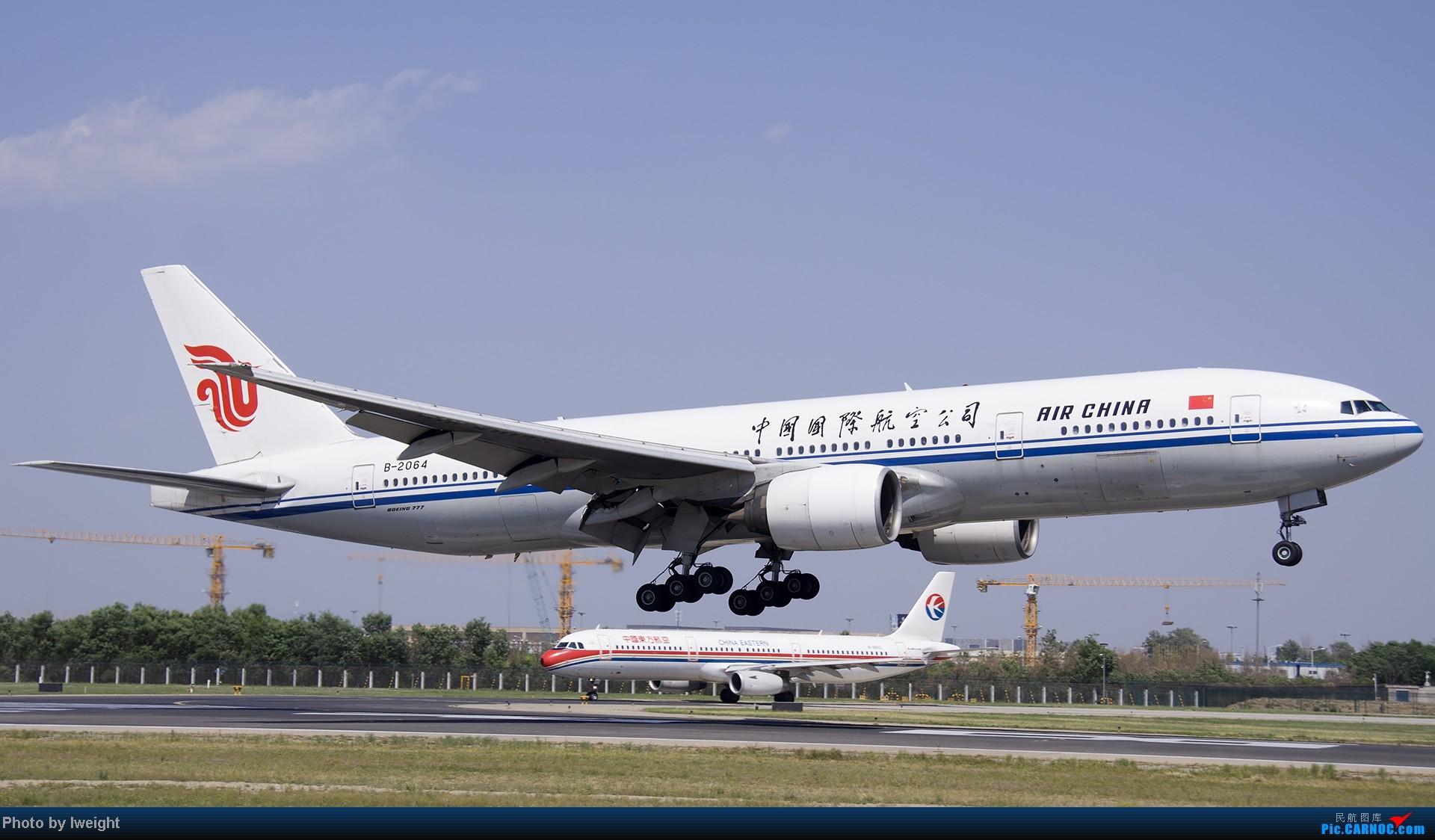 Re:[原创]5月12日PEK好天从01→19→18R BOEING 777-200 B-2064 中国北京首都机场