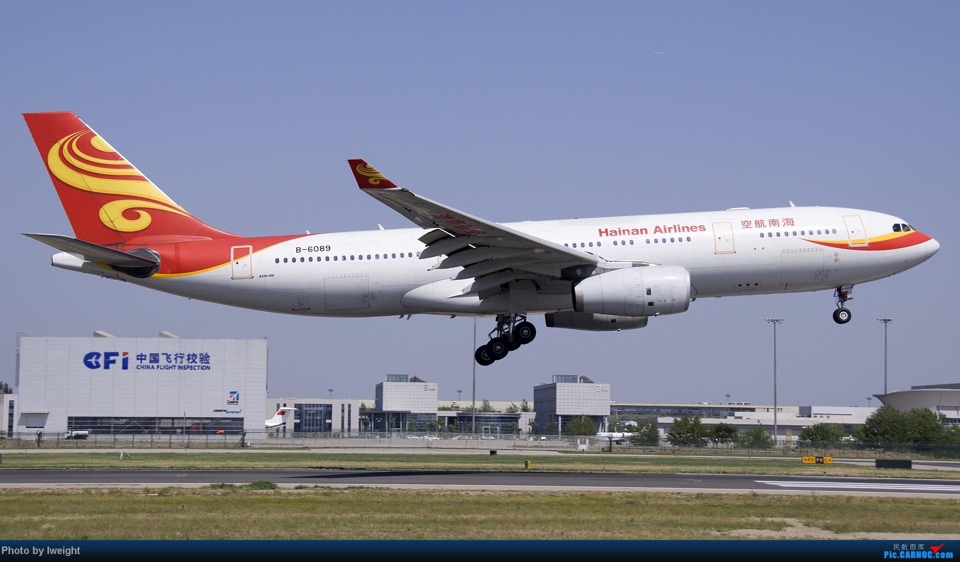 Re:[原创]5月12日PEK好天从01→19→18R AIRBUS A330-200 B-6089 中国北京首都机场