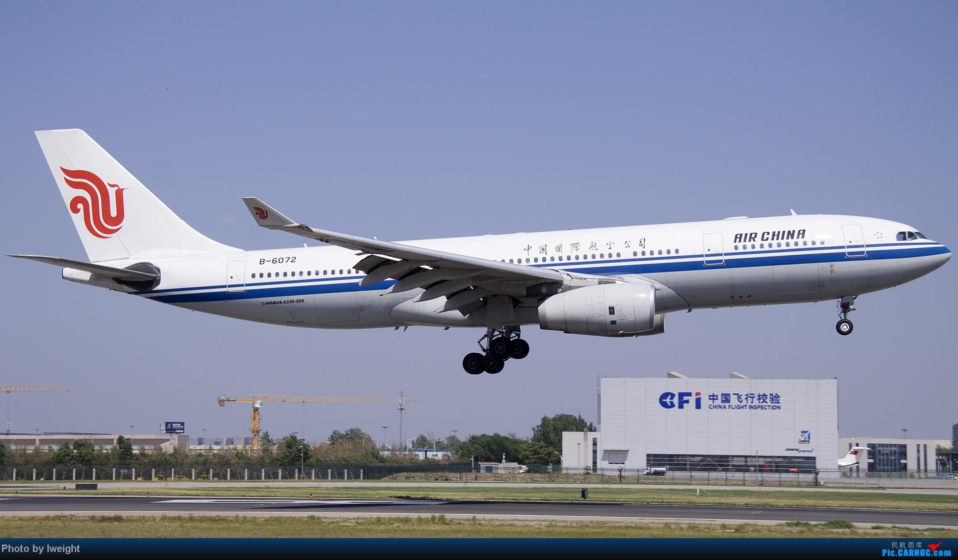 Re:[原创]5月12日PEK好天从01→19→18R AIRBUS A330-200 B-6072 中国北京首都机场