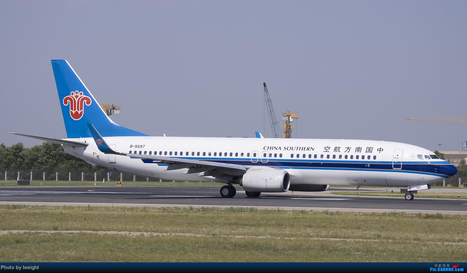 Re:[原创]5月12日PEK好天从01→19→18R BOEING 737-800 B-5697 中国北京首都机场