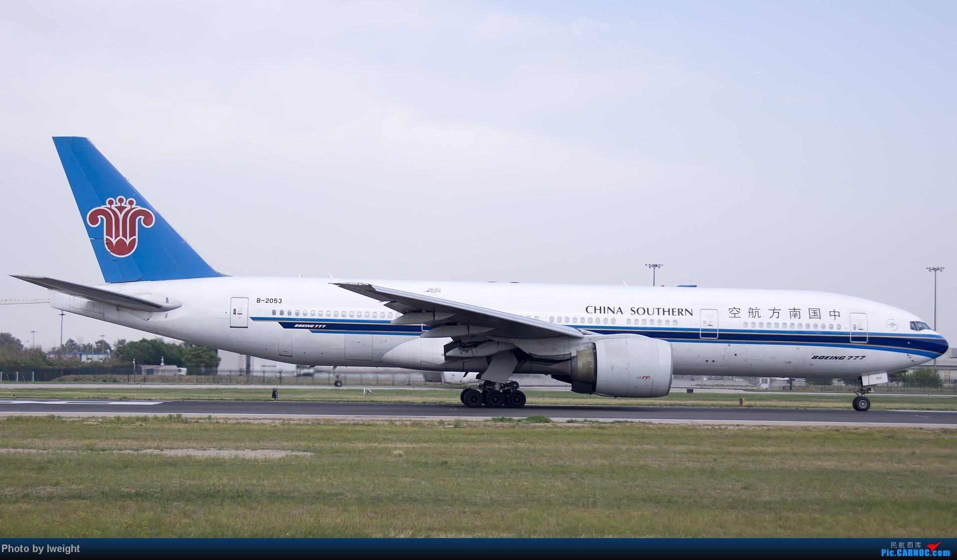 Re:[原创]5月12日PEK好天从01→19→18R BOEING 777-200 B-2053 中国北京首都机场