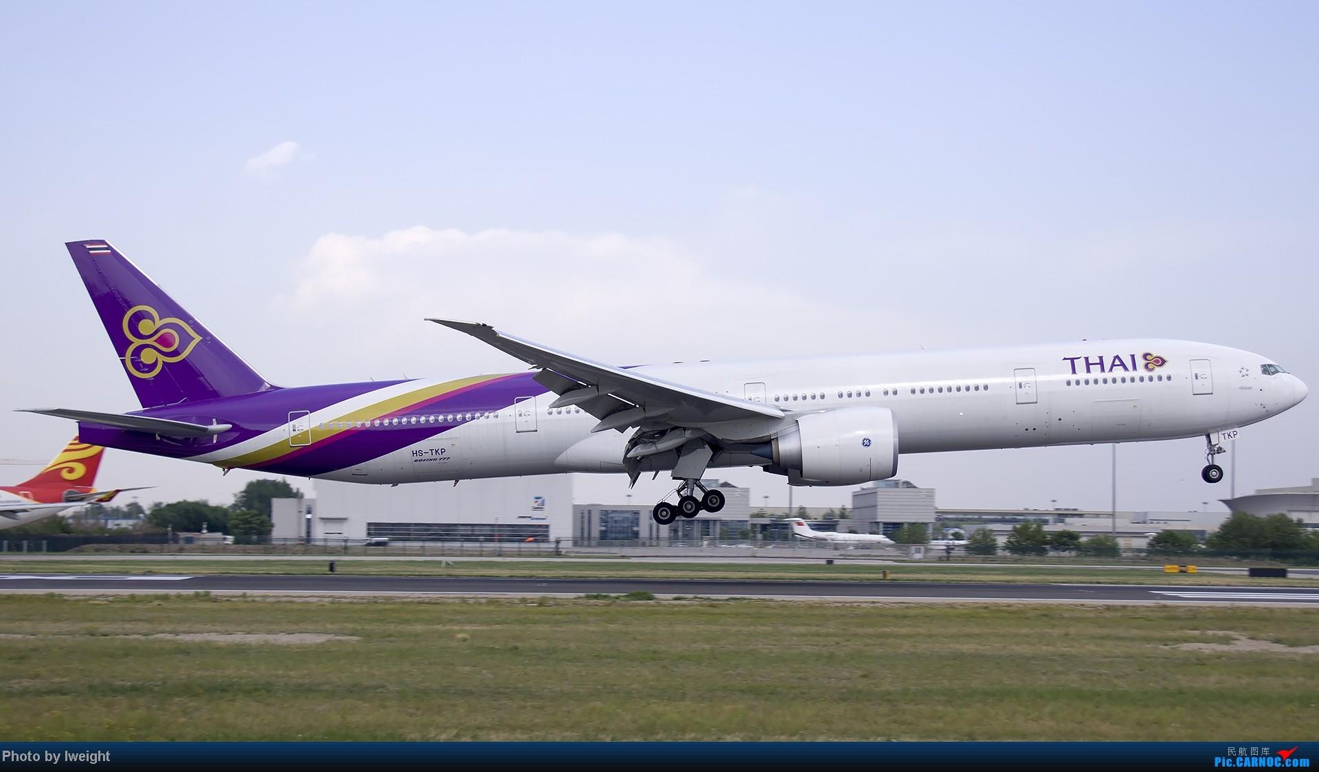 Re:[原创]5月12日PEK好天从01→19→18R BOEING 777-300 HS-TKP 中国北京首都机场