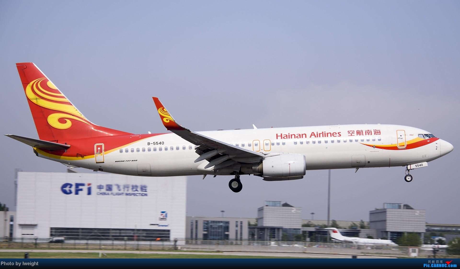 Re:[原创]5月12日PEK好天从01→19→18R BOEING 737-800 B-5540 中国北京首都机场
