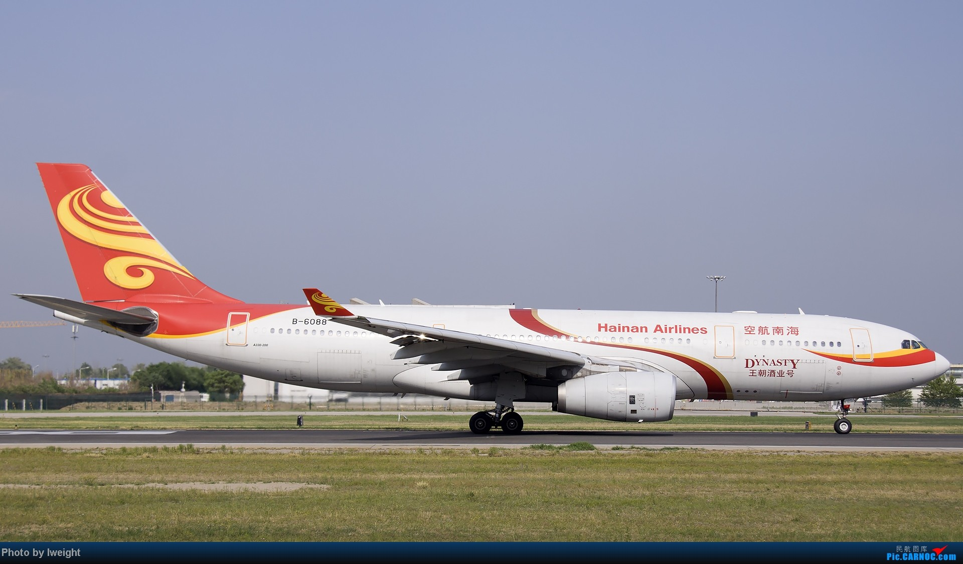 Re:[原创]5月12日PEK好天从01→19→18R AIRBUS A330-200 B-6088 中国北京首都机场
