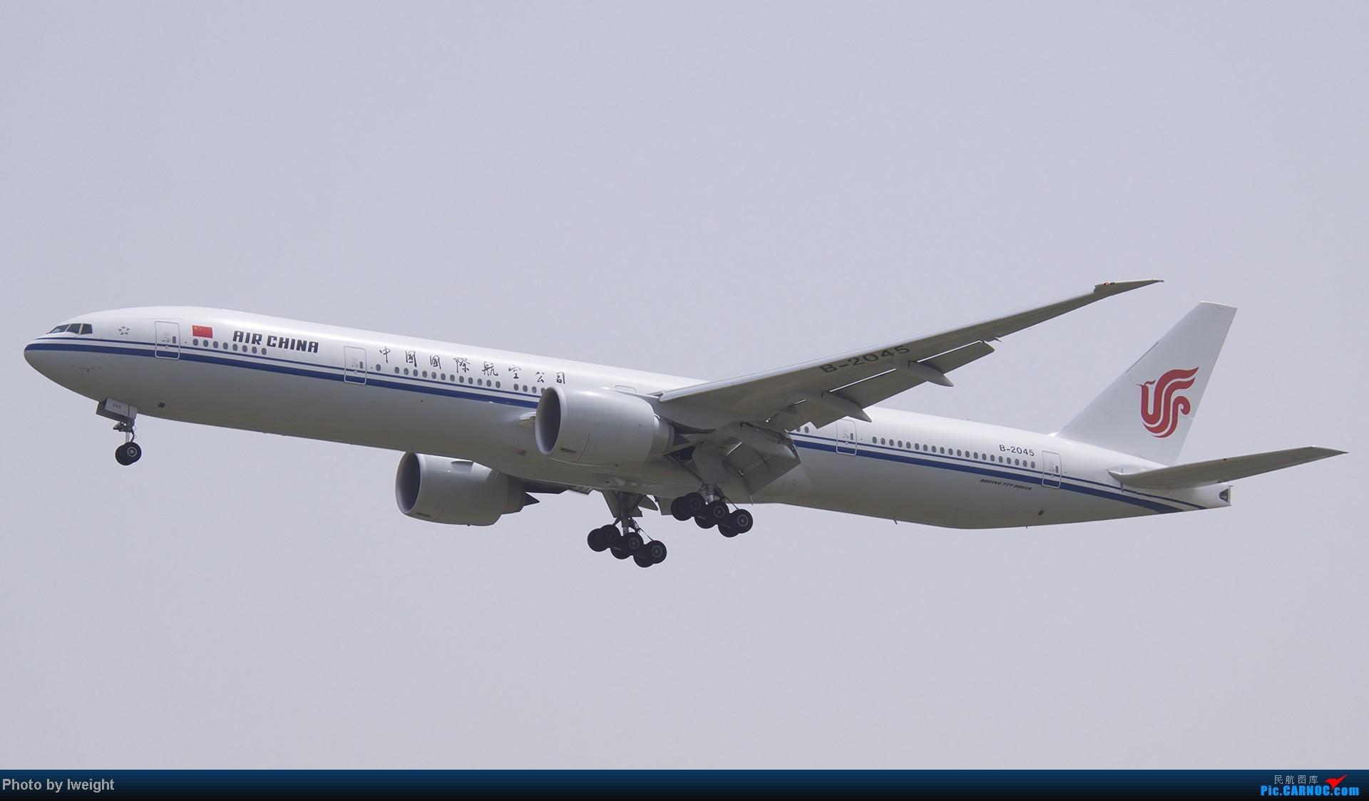 Re:[原创]霾天首都机场随拍 BOEING 777-300 B-2045 中国北京首都机场