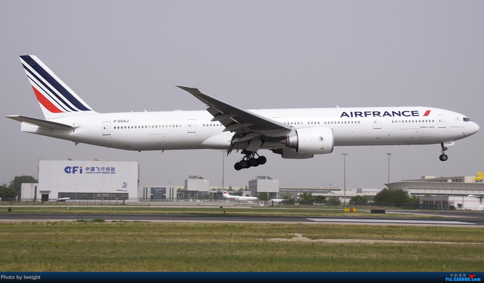 Re:[原创]霾天首都机场随拍 BOEING 777-300ER F-GSQJ 中国北京首都机场