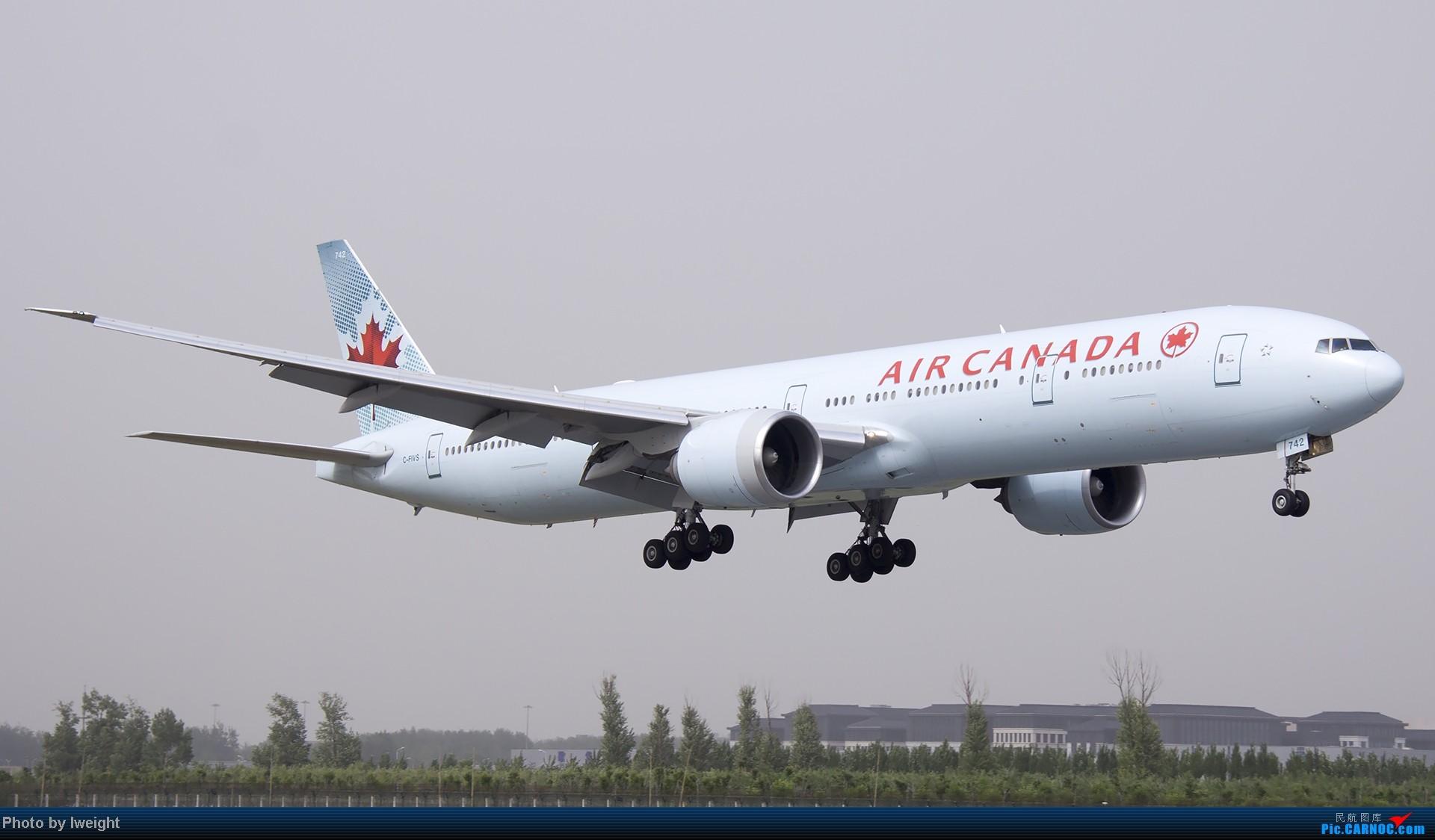 Re:[原创]霾天首都机场随拍 BOEING 777-300ER C-FIVS 中国北京首都机场