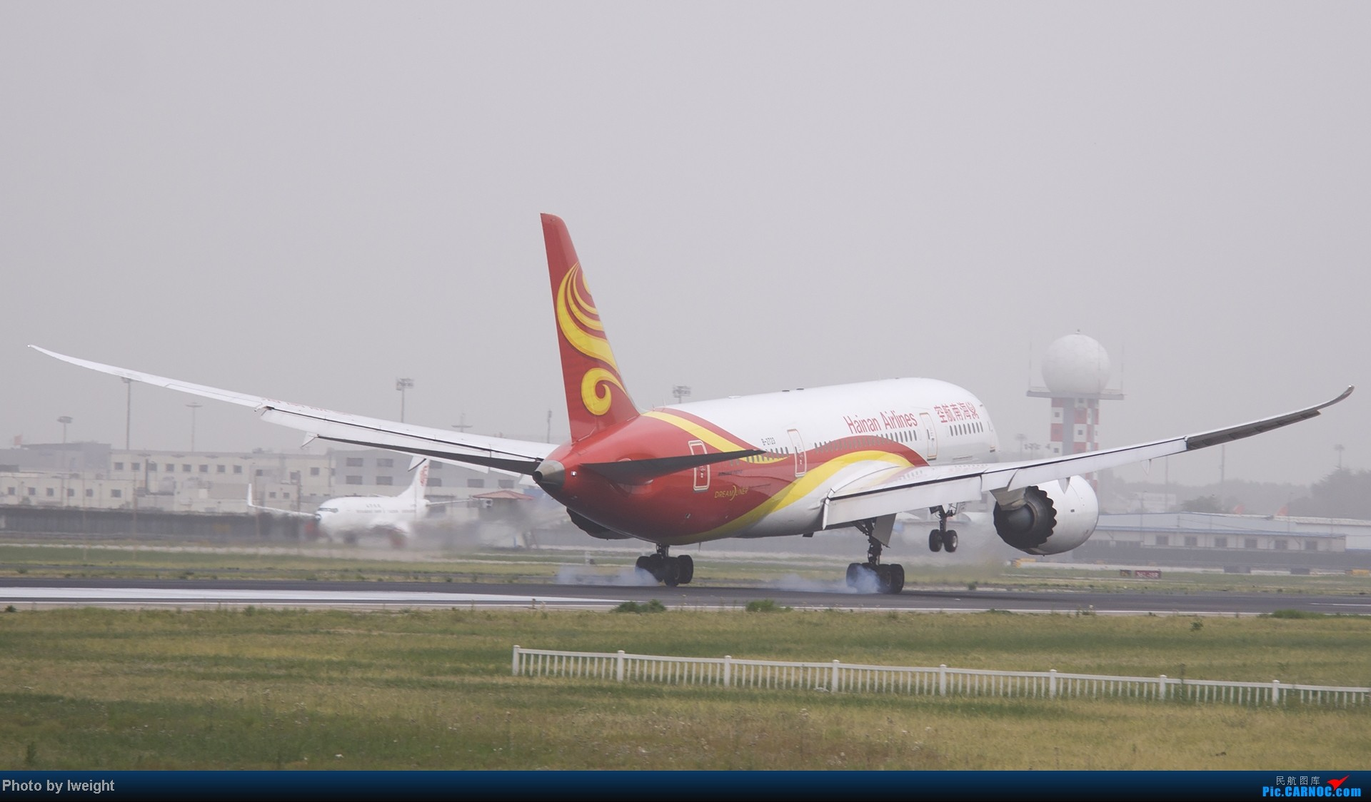 Re:[原创]霾天首都机场随拍 BOEING 787-8 B-2723 中国北京首都机场