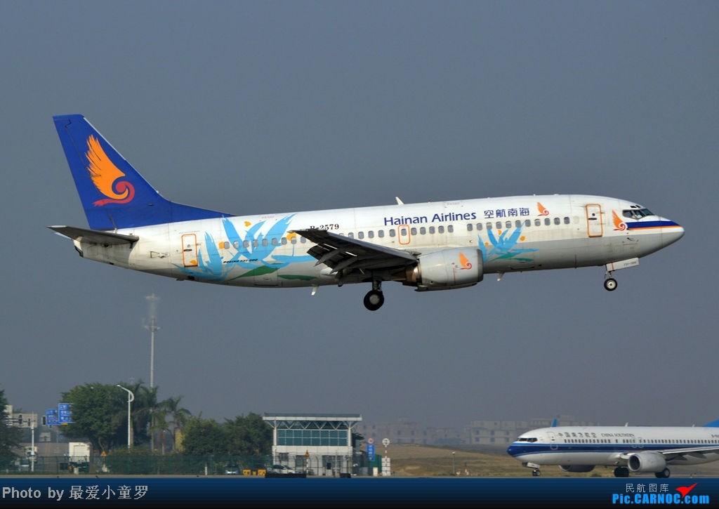 Re:[原创]炒冷饭之最后一次在CAN三炮工地拍机 BOEING 737-300 B-2579 中国广州白云机场