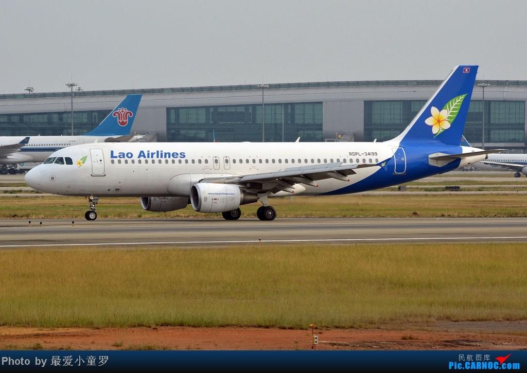 Re:[原创]炒冷饭之最后一次在CAN三炮工地拍机 AIRBUS A320-200 RPDL-34199 中国广州白云机场