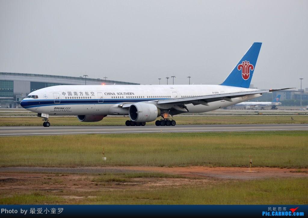 Re:[原创]炒冷饭之最后一次在CAN三炮工地拍机 BOEING 777-200 B-2055 中国广州白云机场
