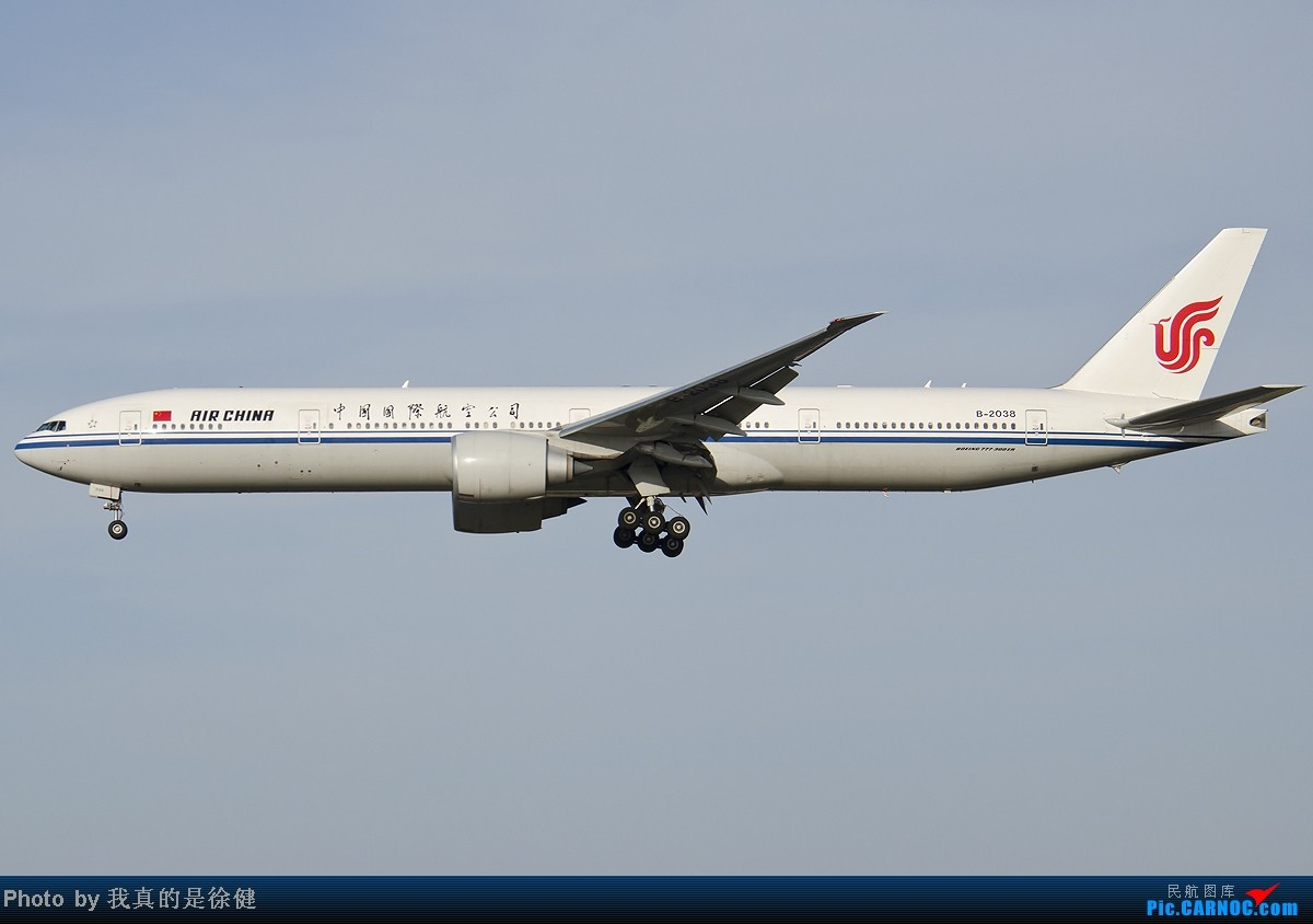 [原创]欢迎来到凤凰窝!5月PEK随手拍~ BOEING 777-300 B-2038 中国北京首都机场