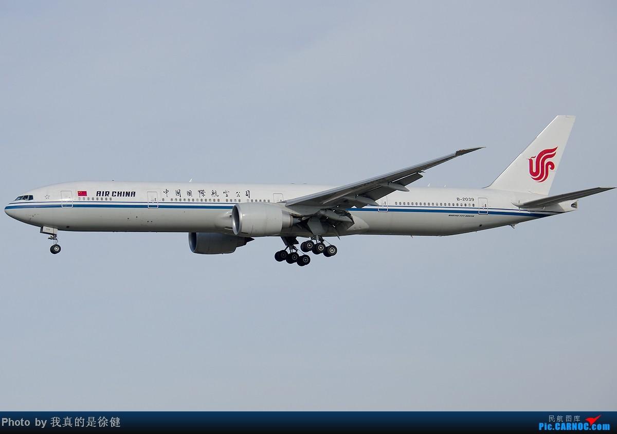 Re:[原创]欢迎来到凤凰窝!5月PEK随手拍~ BOEING 777-300 B-2039 中国北京首都机场