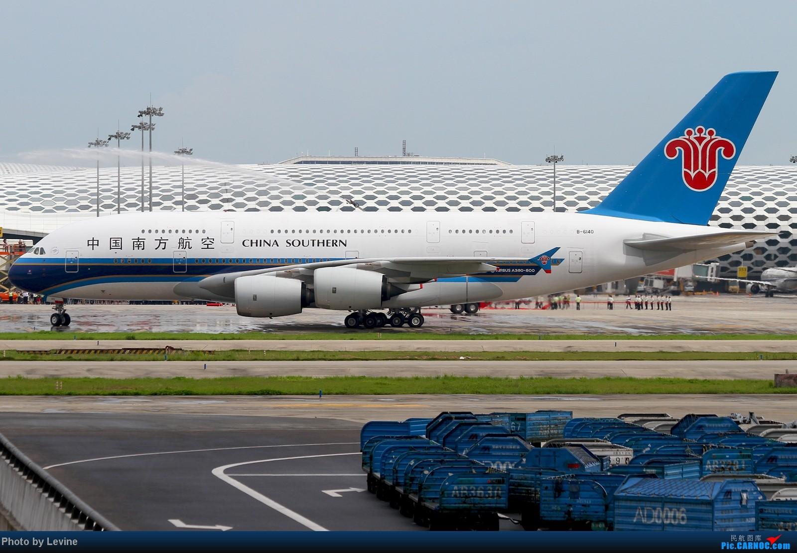 Re:[原创][深圳飞友会]迟来的图 欢迎大胖来到深圳 AIRBUS A380 B-6140 中国深圳宝安机场