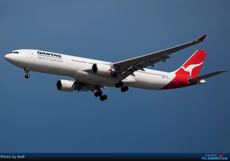 Re:[原创]【SIN樟宜拍机】星航'白星星',沙特阿拉伯,不丹皇家航空,荷兰皇家航空,卖萌的中货航744F。。。 AIRBUS A330-303 VH-QPJ 新加坡樟宜机场