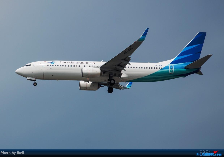 Re:[原创]【SIN樟宜拍机】星航'白星星',沙特阿拉伯,不丹皇家航空,荷兰皇家航空,卖萌的中货航744F。。。 BOEING 737-8U3(WL) PK-GNF 新加坡樟宜机场