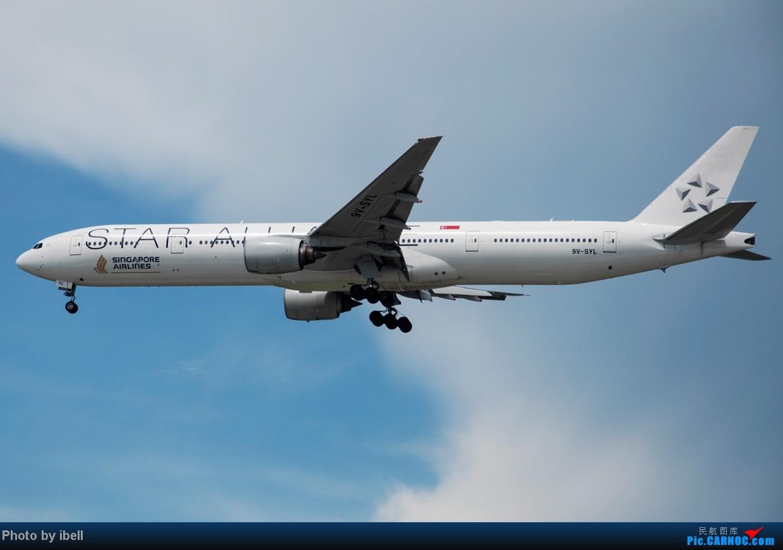 Re:[原创]【SIN樟宜拍机】星航'白星星',沙特阿拉伯,不丹皇家航空,荷兰皇家航空,卖萌的中货航744F。。。 BOEING 777-312 9V-SYL 新加坡樟宜机场