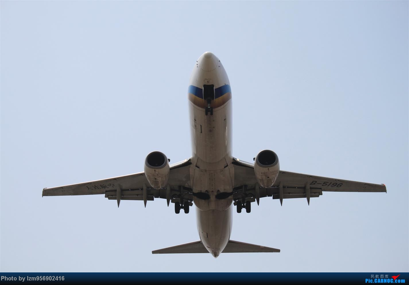Re:[原创]DLC蹲点大半天,拍到了大棒航空772=w= BOEING 737-800 B-5196 中国大连周水子机场