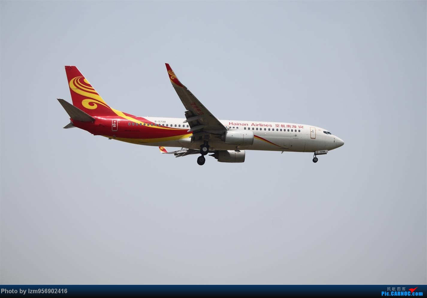 Re:[原创]DLC蹲点大半天,拍到了大棒航空772=w= BOEING 737-800 B-5798 中国大连周水子机场
