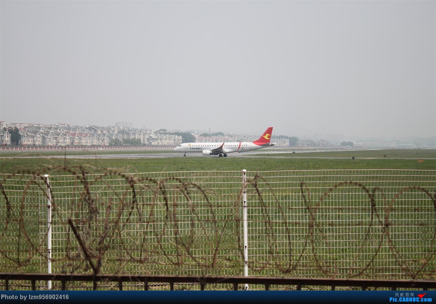 Re:[原创]DLC蹲点大半天,拍到了大棒航空772=w= EMBRAER E-190 B-3195 中国大连周水子机场