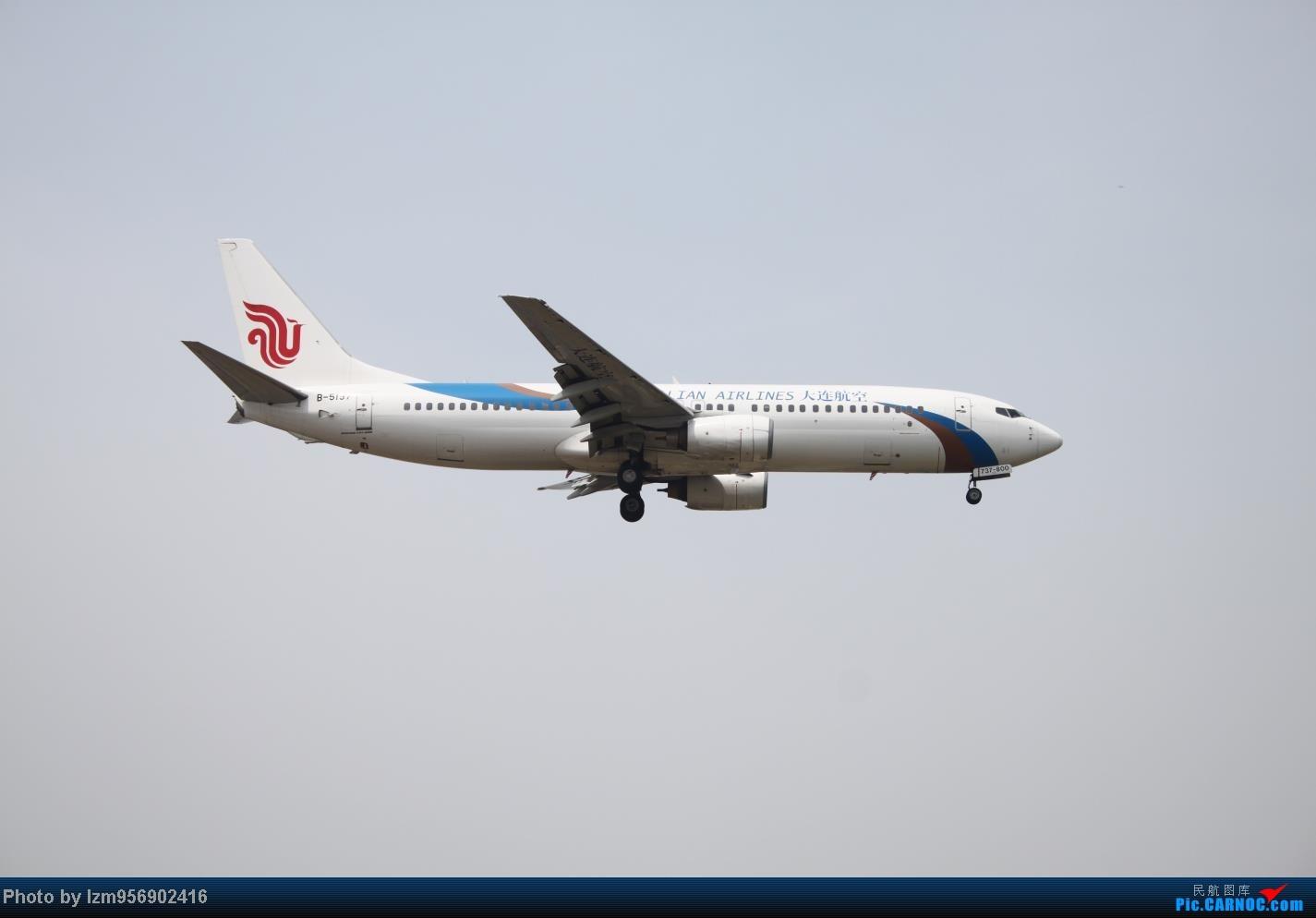 Re:[原创]DLC蹲点大半天,拍到了大棒航空772=w= BOEING 737-800 B-5197 中国大连周水子机场