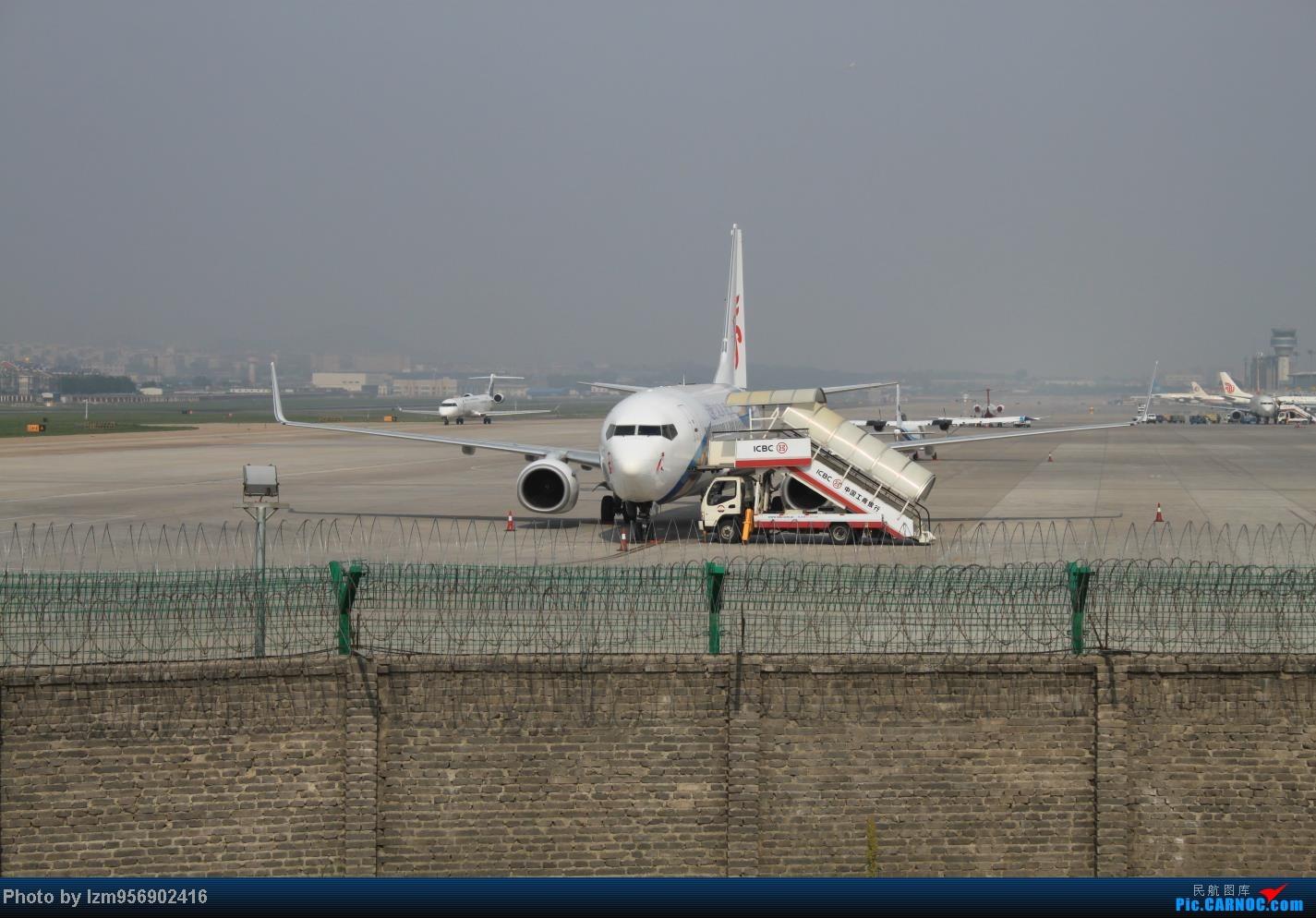 Re:[原创]DLC蹲点大半天,拍到了大棒航空772=w= BOEING 737-800 B-5553 中国大连周水子机场