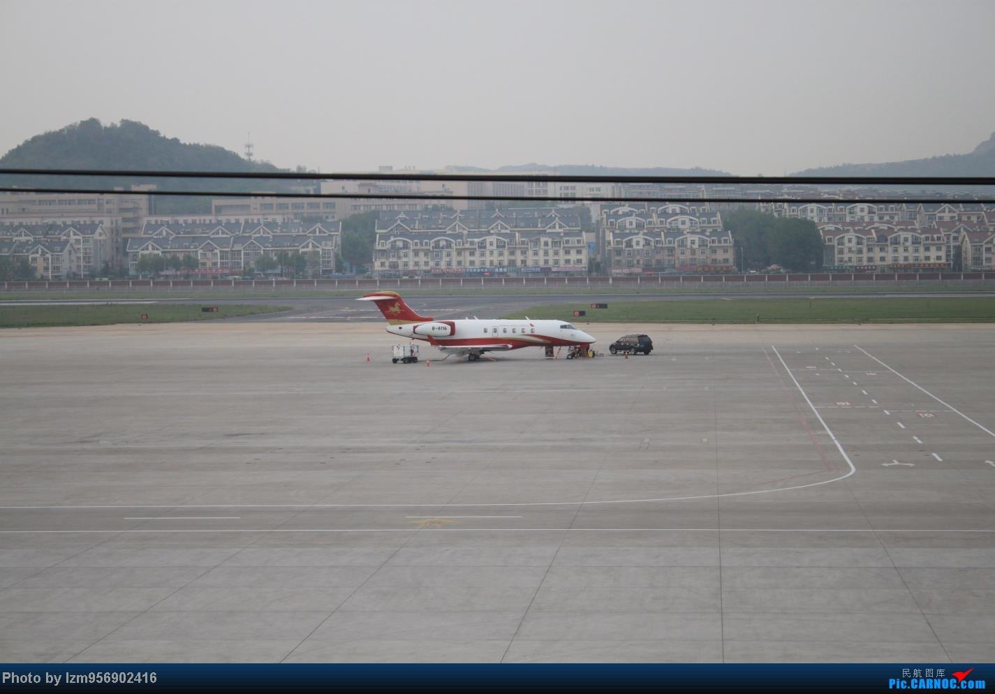 Re:[原创]DLC蹲点大半天,拍到了大棒航空772=w= BOMBARDIER CHALLENGER-300 B-8116 中国大连周水子机场