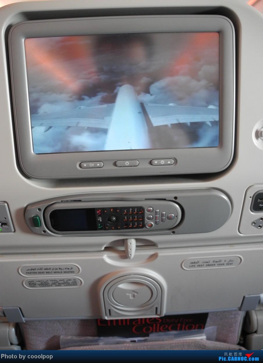 Re:[原创]这贴是去年 迪拜 飞 香港时拍的!只为向大家展示一下EK的最新ICE系统! A380-800 A6-EDG 阿拉伯联合酋长国迪拜机场