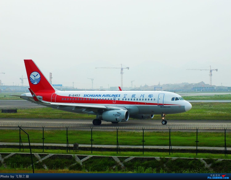 Re:[原创]CKG货运站小山坡最后一拍! AIRBUS A319 B-6453 重庆江北国际机场