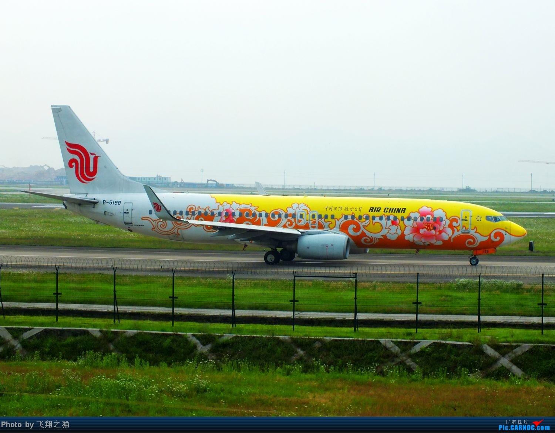 Re:[原创]CKG货运站小山坡最后一拍! BOEING 737-800 B-5198 重庆江北国际机场