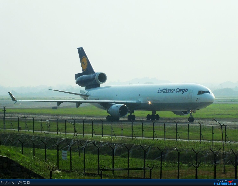 Re:[原创]CKG货运站小山坡最后一拍! MCDONNELL DOUGLAS MD-11F D-ALCS 重庆江北国际机场