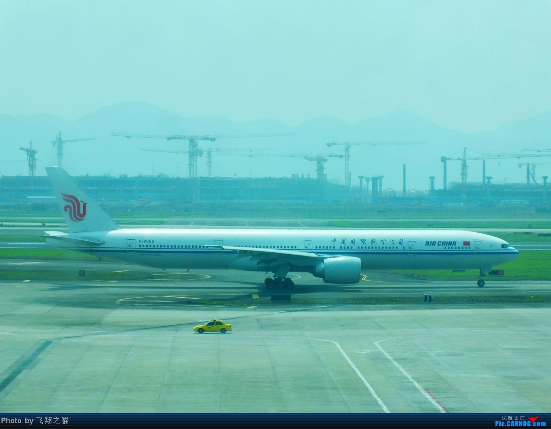 Re:[原创]CKG货运站小山坡最后一拍! BOEING 777-300 B-2086 重庆江北国际机场