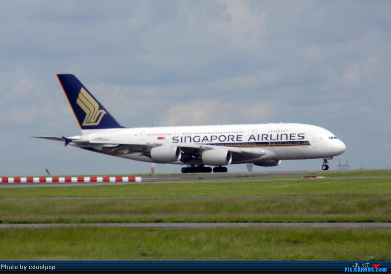 Re:[原创]继续继续! 巴黎凡尔赛宫!以及巴黎 经停 法兰克福 回北京!! 继续我的汉莎之旅!(2014年第5帖) A380-800  法国戴高乐机场