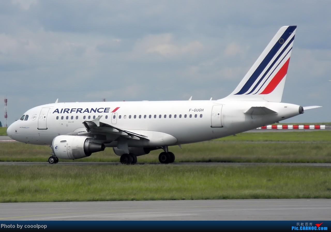 Re:[原创]继续继续! 巴黎凡尔赛宫!以及巴黎 经停 法兰克福 回北京!! 继续我的汉莎之旅!(2014年第5帖) A318 F-GUGH 法国戴高乐机场
