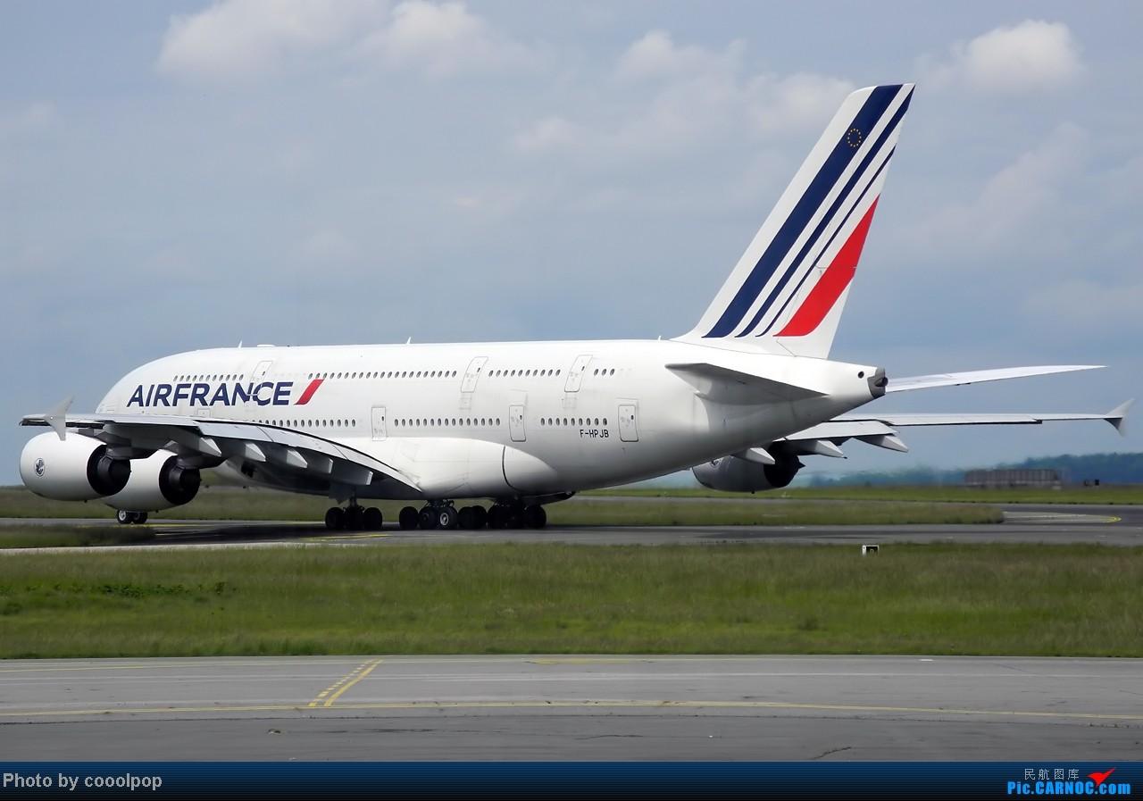 Re:[原创]继续继续! 巴黎凡尔赛宫!以及巴黎 经停 法兰克福 回北京!! 继续我的汉莎之旅!(2014年第5帖) A380-800 F-HPJB 法国戴高乐机场