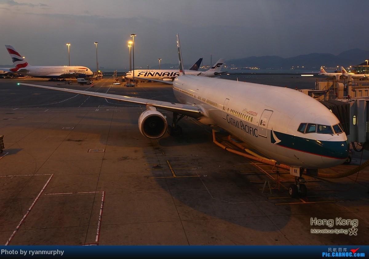 Re:【Murphy游记㈩㈠】香港的春天 - 吃货之旅。PEK-HKG-PEK...纯净的南丫岛~赤邋角拍机险误机~ BOEING 777-300 B-HNK 中国香港赤鱲角机场