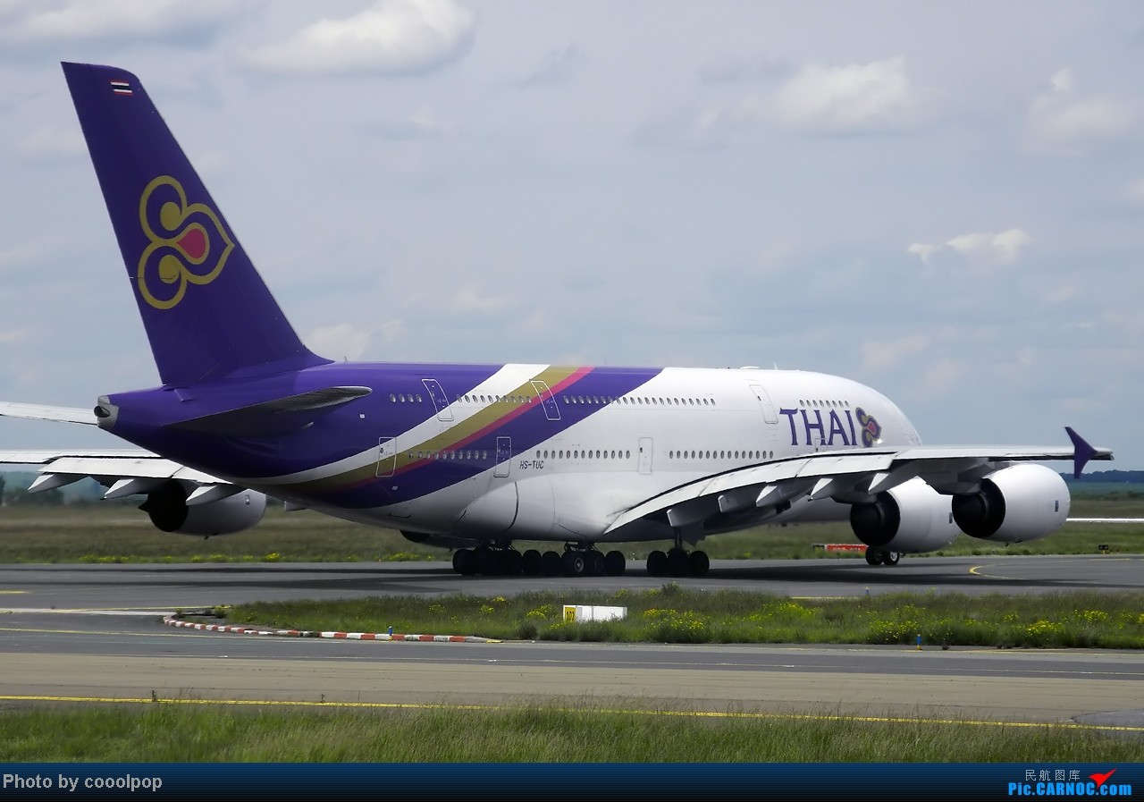 Re:[原创]继续继续! 巴黎凡尔赛宫!以及巴黎 经停 法兰克福 回北京!! 继续我的汉莎之旅!(2014年第5帖) A380-800 HS-TUC 法国戴高乐机场