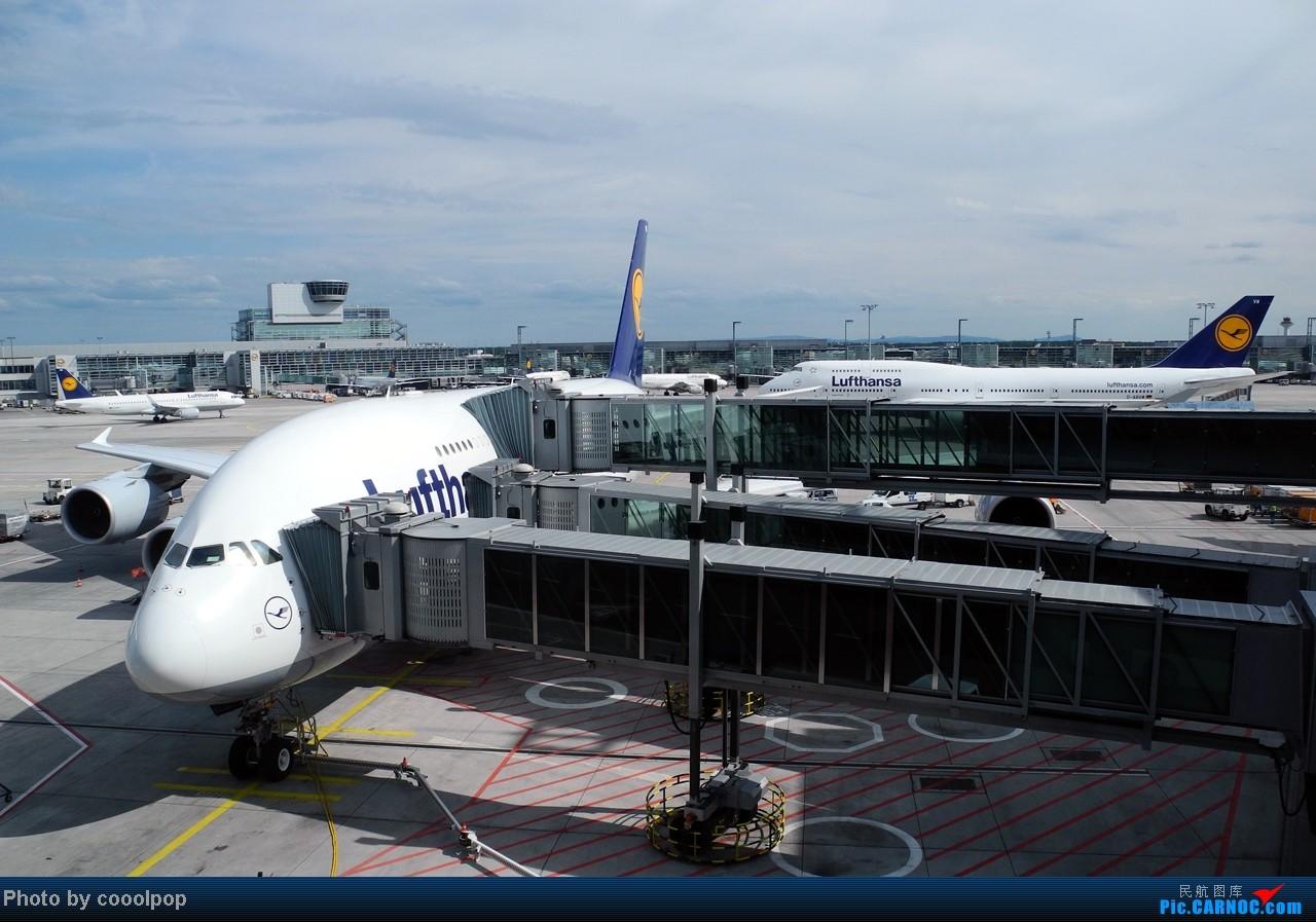 Re:[原创]继续继续! 巴黎凡尔赛宫!以及巴黎 经停 法兰克福 回北京!! 继续我的汉莎之旅!(2014年第5帖) A380-800 D-AIMG 德国法兰克福机场