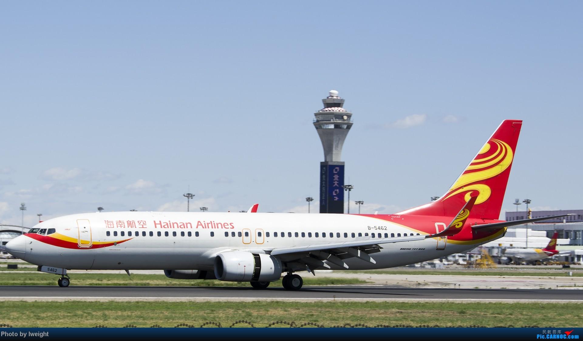 [原创]新相机+好天气,PEK试机乱拍 BOEING 737-800 B-5462 中国北京首都机场