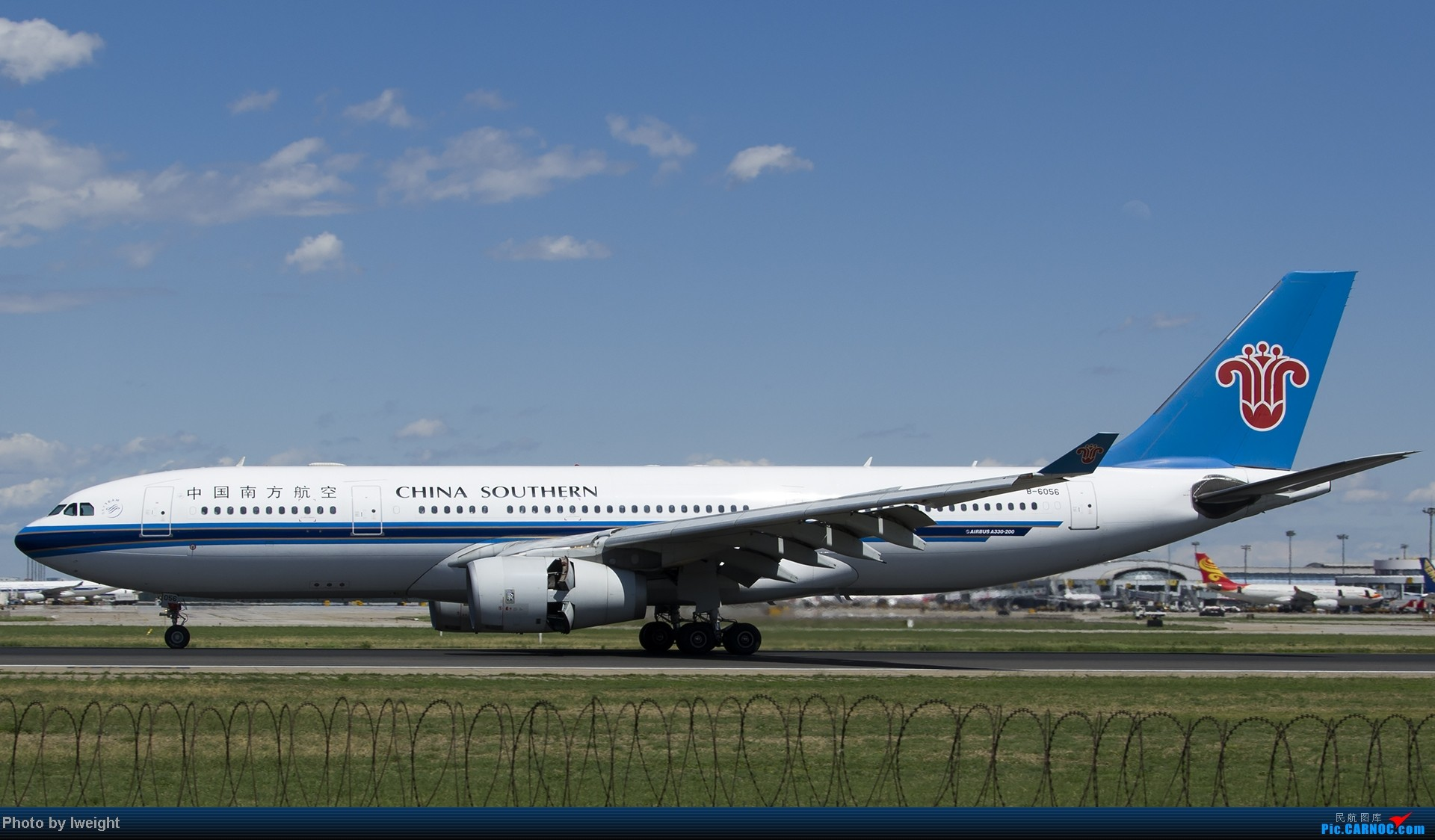 Re:[原创]新相机+好天气,PEK试机乱拍 AIRBUS A330-200 B-6056 中国北京首都机场