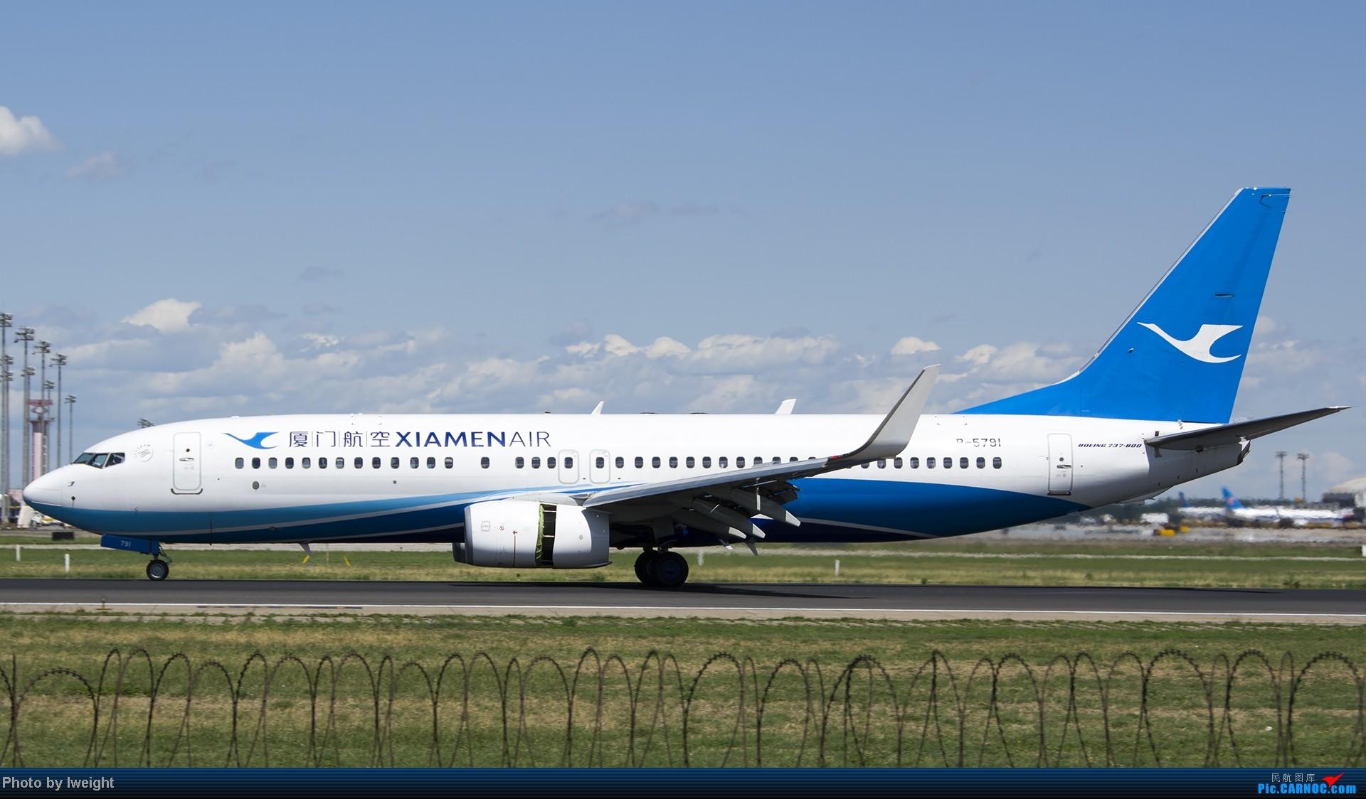 Re:[原创]新相机+好天气,PEK试机乱拍 BOEING 737-800 B-5791 中国北京首都机场