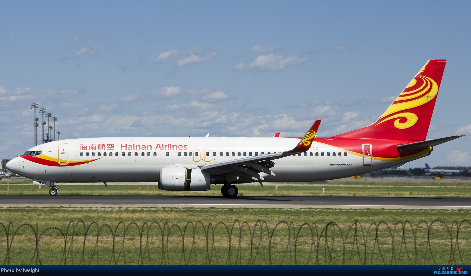 Re:[原创]新相机+好天气,PEK试机乱拍 BOEING 737-800 B-5539 中国北京首都机场