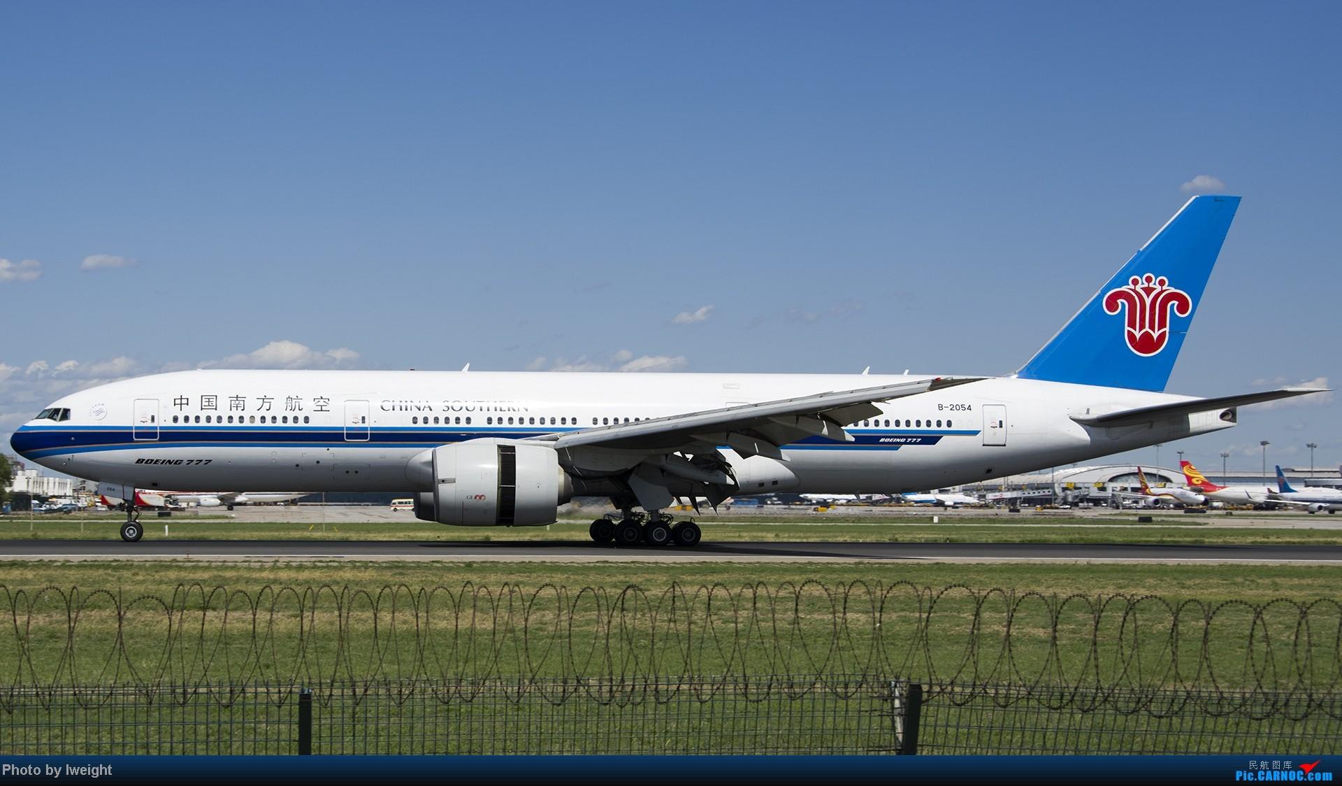 Re:[原创]新相机+好天气,PEK试机乱拍 BOEING 777-200 B-2054 中国北京首都机场