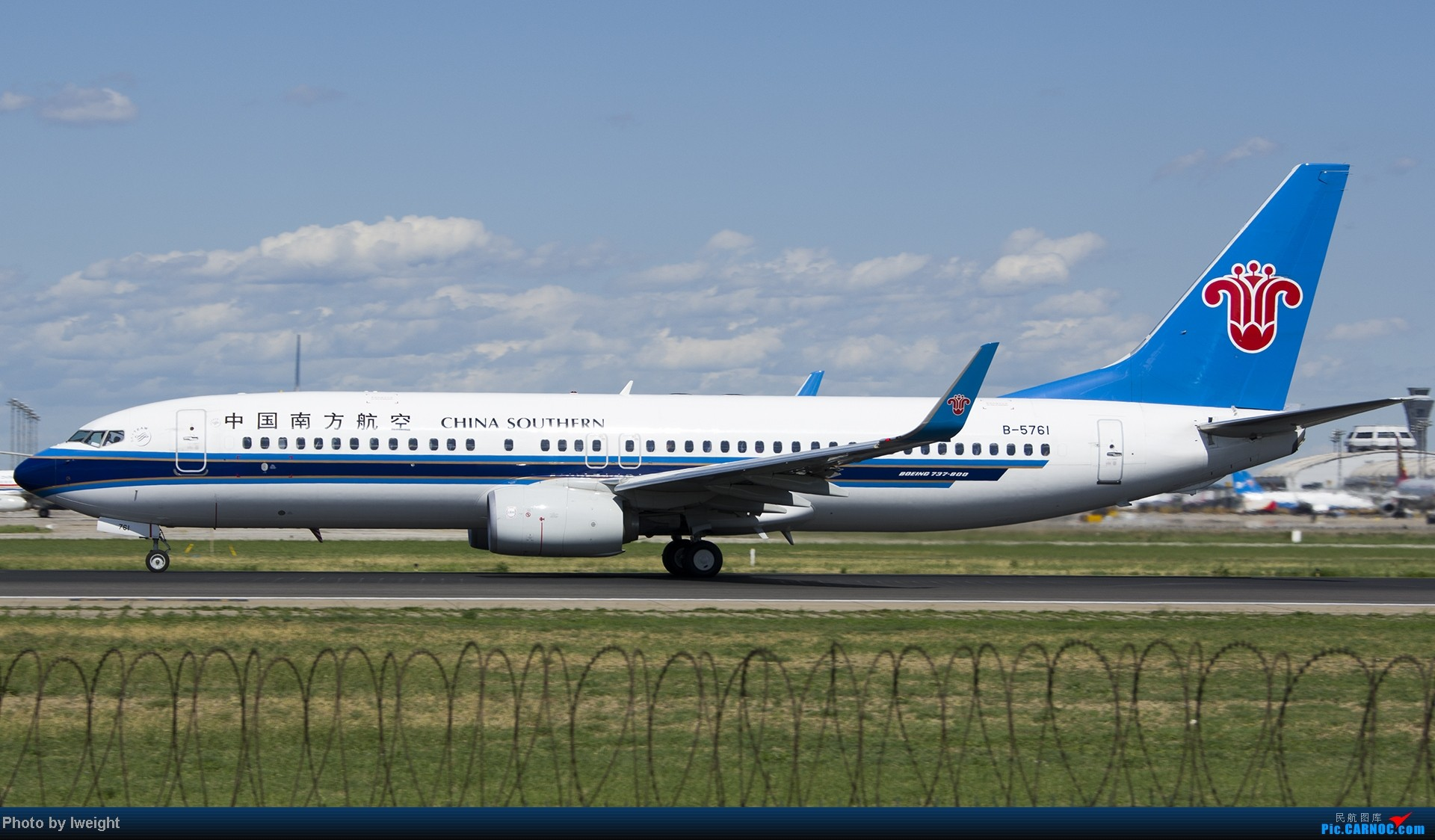 Re:[原创]新相机+好天气,PEK试机乱拍 BOEING 737-800 B-5761 中国北京首都机场