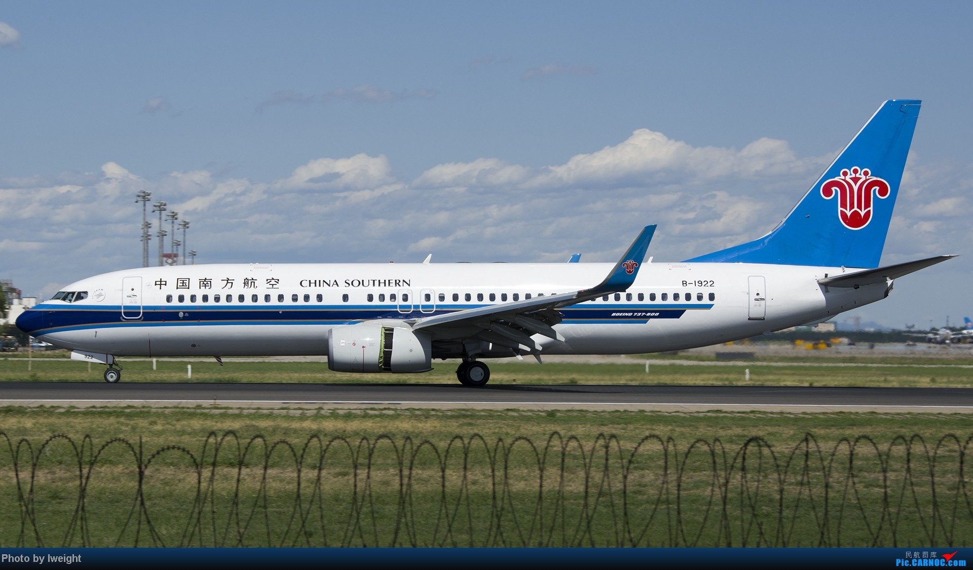 Re:[原创]新相机+好天气,PEK试机乱拍 BOEING 737-800 B-1922 中国北京首都机场