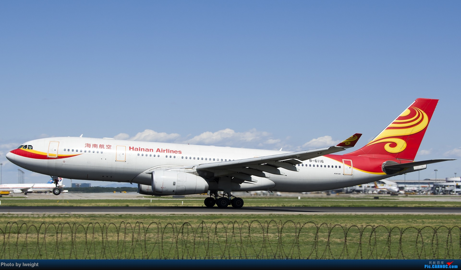 Re:[原创]新相机+好天气,PEK试机乱拍 AIRBUS A330-200 B-6116 中国北京首都机场