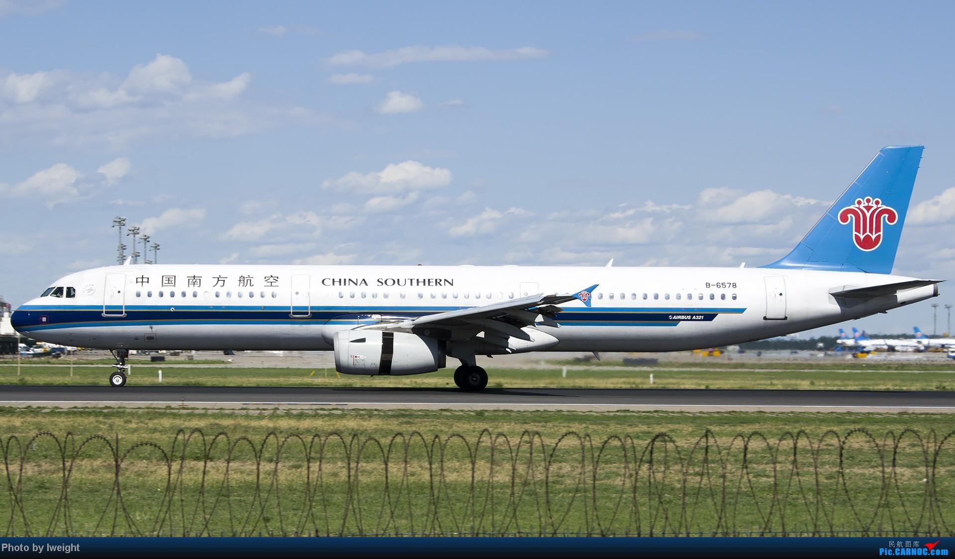 Re:[原创]新相机+好天气,PEK试机乱拍 AIRBUS A321-200 B-6578 中国北京首都机场